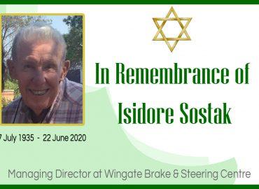 RIP Isidore Sostak
