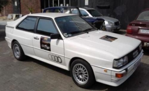 1981 Audi Quatro Rally Car