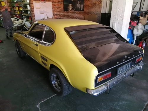 1970 Ford Capri Perana back