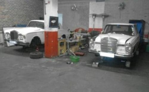 1968 Merc & Rolls Royce
